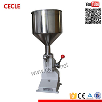 Cheap A03 contemporary manual hand cream filling machine