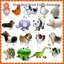 Wholesale Yiwu High Quality Animals Cheap Walking Pet Balloons