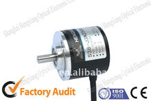 Incremental rotary solid shaft S38-J Series encoder 8 wires