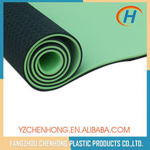 Wholesale Eco TPE Washable Anti Slip Custom Yoga Mat For Fitness