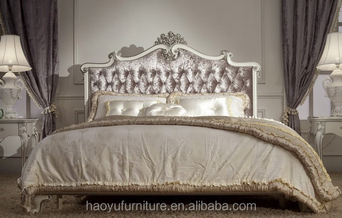 Sm a001a luxury hotel furniture for sale fabric classic for European beds for sale
