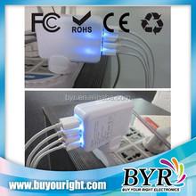 EU,US,UK,AU plugs 5V 3.1A usb wall charger, dual port/3 port/4 port usb travel charger