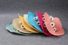 China Factory Girls Straw Hat Wholesale