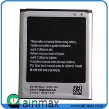 Original replacement li-ion batteries of 2100mAh model EB535163LU For Samsung Galaxy Grand Duos i9082