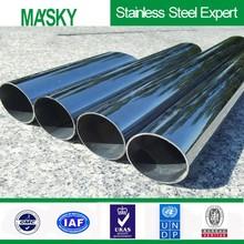 Foshan factory directly inox 304 stainless steel tube 444 2015 sales