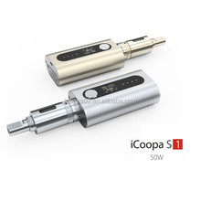 Karass 2015 China best electronic cigarette wholesale wholesale Box Mod Wholesale iCoopa S1 Vape Mega kit 4400 mah