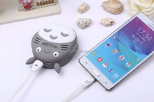 New products hot selling for young Totoro 5200 mah mobile power made in China factory