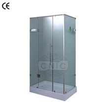 libre de pie pequeño cuarto de baño recinto de la ducha