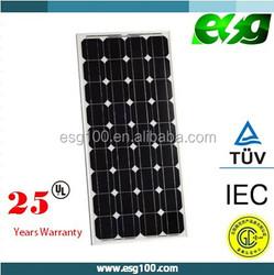 Monocrystalline silicon cell Mono pv module 150W Mono solar panel for solar system