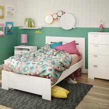 modern panel board melamine facing kids bedroom furnitures