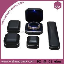 Novel LED Custom Jewelry Box & Hinge For Jewelry Set Boxes With LED Light