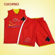 2015 custom design fashion basketball uniform LQF-075