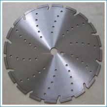 300mm multi-holes laser welded diamond saw blade concrete asphalt cutting disc
