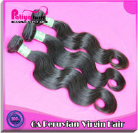 Pretty and charming peruvian body wave hair extension bridal