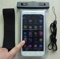 Mobile phone waterproof bag with Armband for Iphone ,Samsung etc
