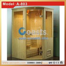 sauna room set for home spa