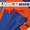 Inherently flame retardant aramid fabric