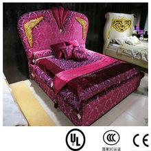 divan bed indian bed designs regal luxury bedding set DXY-28#