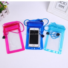 Wholesale OEM pvc waterproof bag for iphone