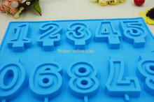 Alphabet Number Letters Silicone Fondant Mold Birthday Cake Modelling Tool/ silicone letter molds