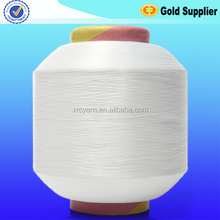 knitting yarn for underwear raw white nylon 6 yarn from huizhou yarn manufacturer