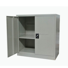 Promotional prices office furniture 2 swing door steel lateral filing cabinet