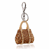 Hot Sale Leopard Diamond Acrylic Key Chain,Key Chain in Yiwu(swtaa1111)