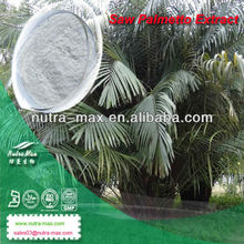 GMP Factory Natural Saw Palmetto P.E./Fatty Acids 25% 45% 90%