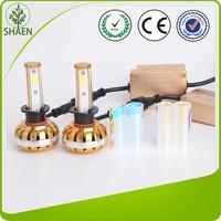 New Model waterproof COB LED headlight gold series 60W head lamp 4000lm headlight bulb