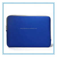 factory price neoprene netbook sleeve fit for 13inch laptop with zipper closure