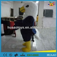 hot sale eagle mascot costume for commercial