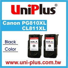 Refillable ink cartridge for canon PG-810 810XL CL-811 811XL