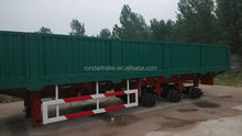Modern top sell express cargo trailers