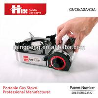 Japanese aluminium single burner portable mini gas stove