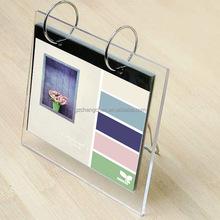 2015 new fashion acrylic tabletop calendar