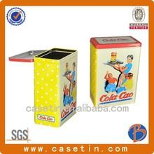 Uso de lembrança de chá e Metal Material de flandres chá lata