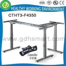 Desk up and down & adjuster for desk base & 3 leg height adjustable table base sale abroad