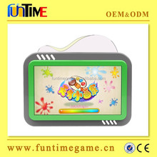 Popular kiddie touch screen display wall games for kids game center