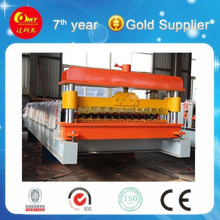 HKY Building Material Wall and Roof Metal Tile Machine,Wall and Roof Sheet Steel Cold Roll Forming Line