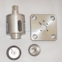 custom high precision aluminum CNC machining parts, stainless steel cnc machined parts