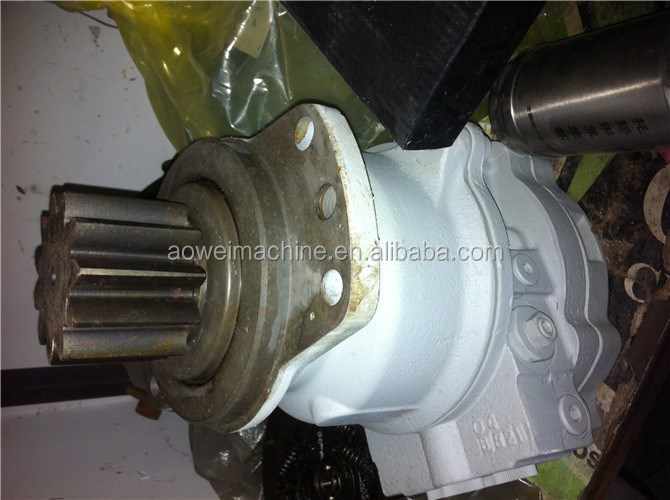 Kobelco SK75SR hydraulic swing motor,SK75 excavator swing gearbox assembly,YT15V00015F3,YT32W000 ...