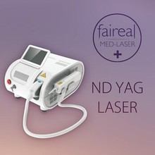 Q Switched nd Yag Laser For Tattoo Removal , Age Spot Removal / qs nd yag laser