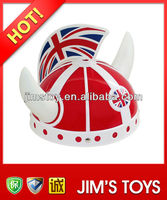 Promotional item football helmet carnival hat for world cup 2014