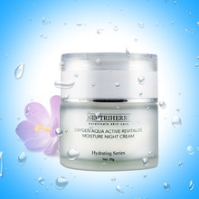 Hot sale natural herbals Oxygen aqua active revitalize night cream best day and night cream for whitening face