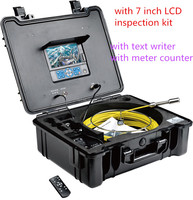 Air duct pipe inspection equipment camera 3199F with sapphire glass lens cover