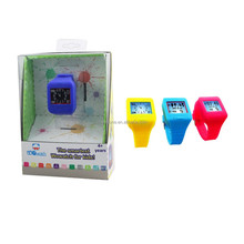 electronic kids watch voice recorder, parents control function