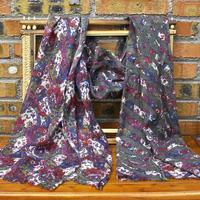 flower handmade wool scarf European style scarf or scarves