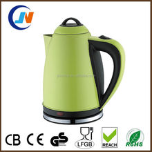 2015 new product new style 2L stainless steel electric kettle with tray set
