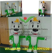Best price inflatable giant inflatable dog cartoon characters