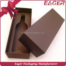 Clear wine glass packing box, cardboard paper wine box